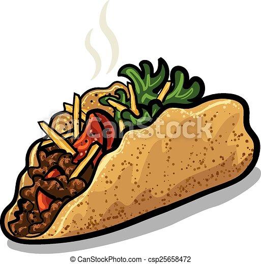 frais, tacos - csp25658472