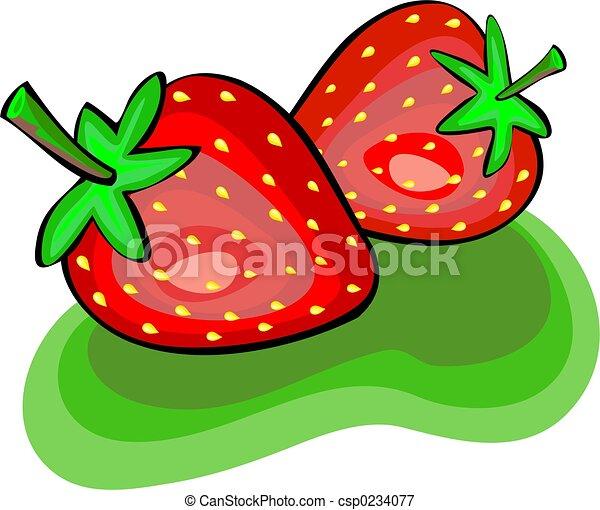 fraises - csp0234077