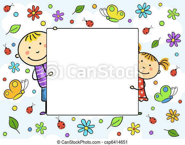 frame., enfants - csp6414651