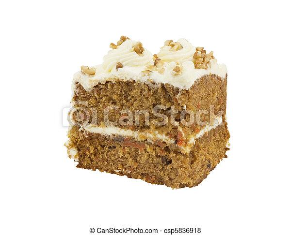 gâteau, carotte - csp5836918