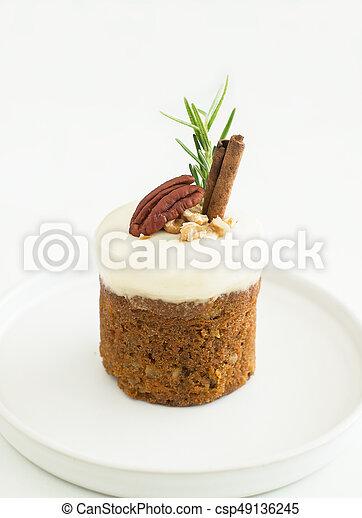 gâteau, carotte - csp49136245
