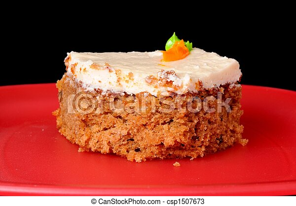 gâteau, carotte - csp1507673