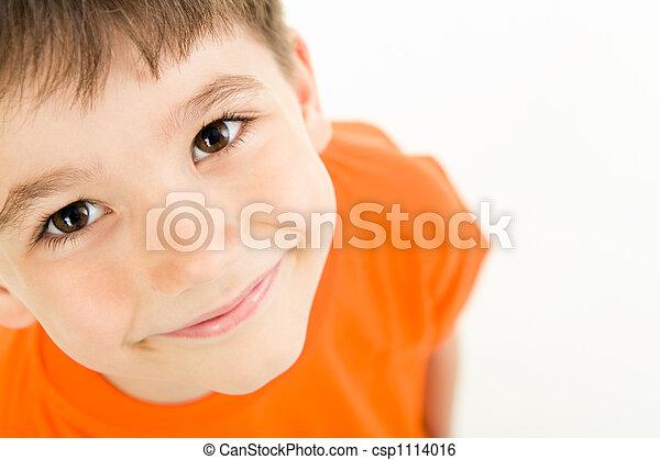garçon, adorable - csp1114016