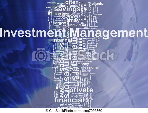 gestion, concept, investissement, fond - csp7003560
