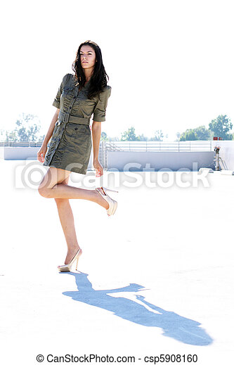 girl, ombre, elle - csp5908160