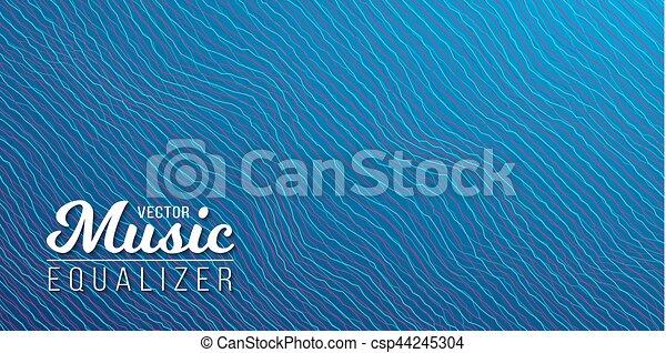 glitch, musique numérique, effet, compensateur - csp44245304