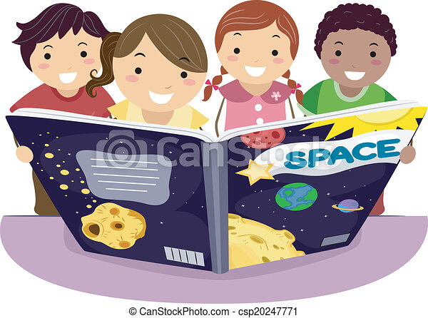 gosses, apprentissage, astromomie - csp20247771