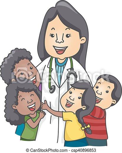 gosses, pédiatre - csp40896853