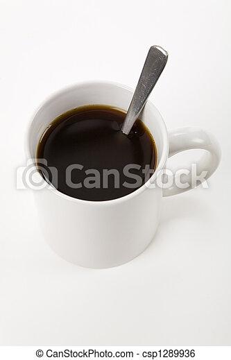 grande tasse café - csp1289936