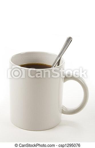 grande tasse café - csp1295076