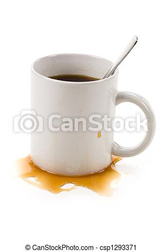 grande tasse café - csp1293371