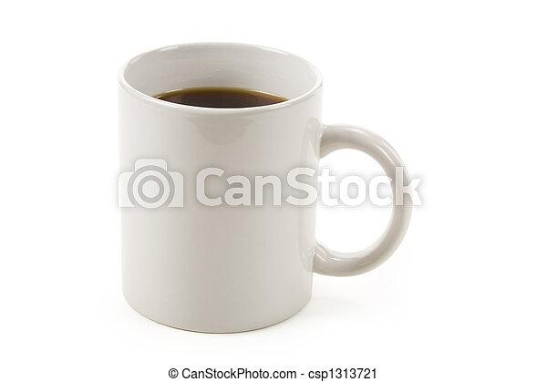 grande tasse café - csp1313721
