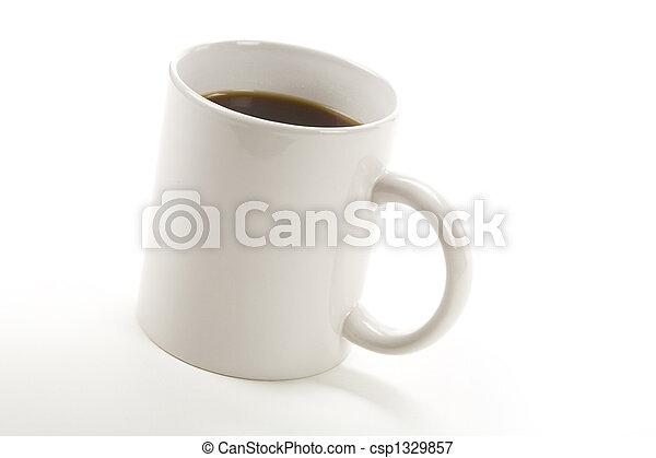 grande tasse café - csp1329857