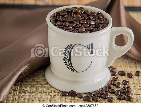 grande tasse café - csp13887652