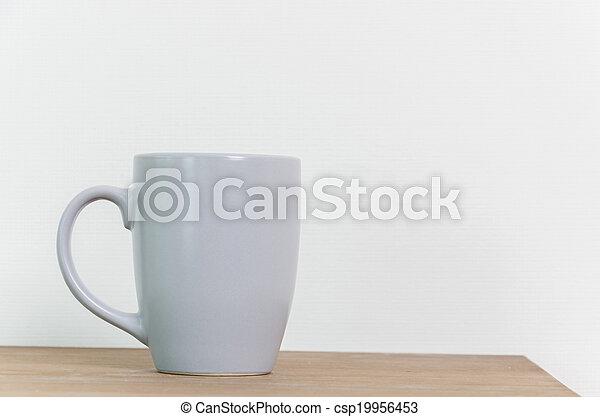 grande tasse café - csp19956453
