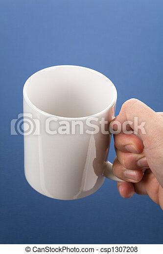 grande tasse café - csp1307208