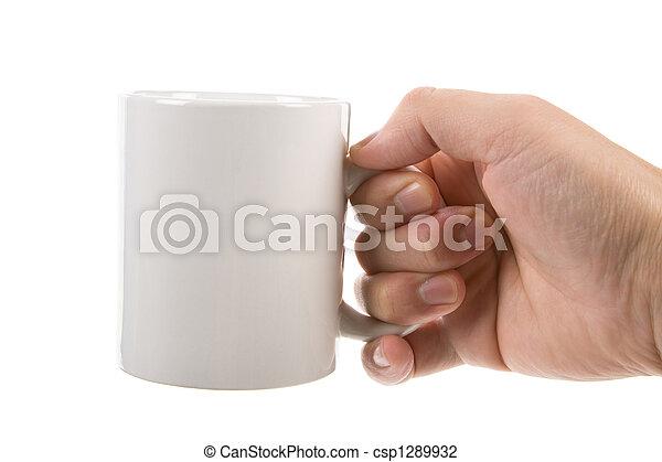 grande tasse café - csp1289932