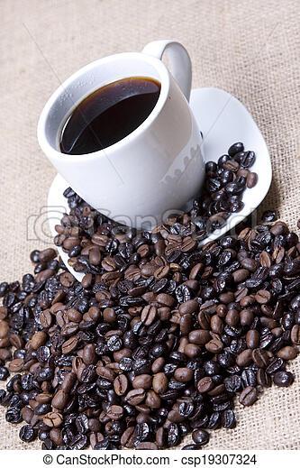 grande tasse café - csp19307324
