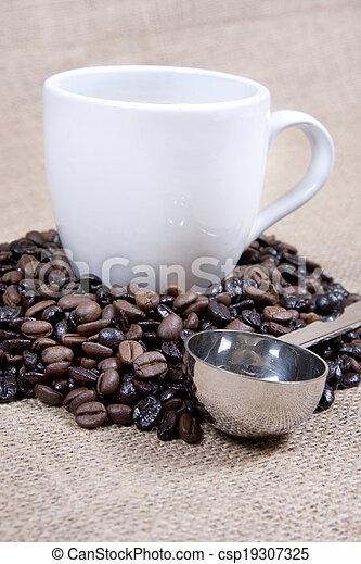 grande tasse café - csp19307325