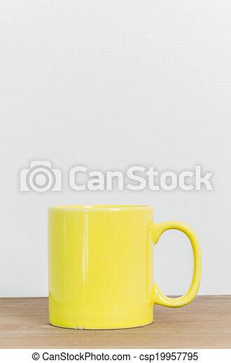 grande tasse café - csp19957795