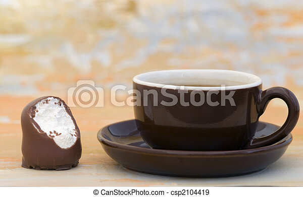 grande tasse café - csp2104419