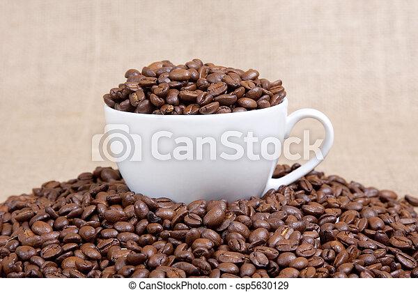 grande tasse café - csp5630129
