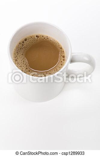 grande tasse café - csp1289933