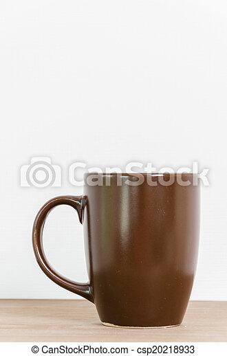 grande tasse café - csp20218933