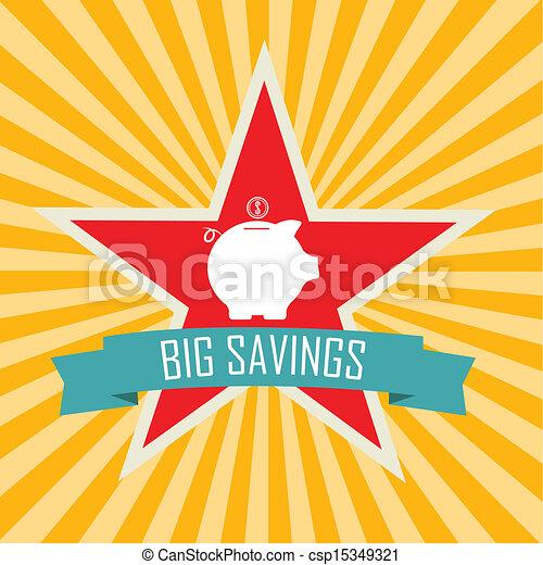 grandes économies - csp15349321