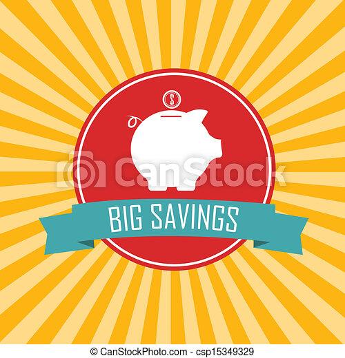 grandes économies - csp15349329