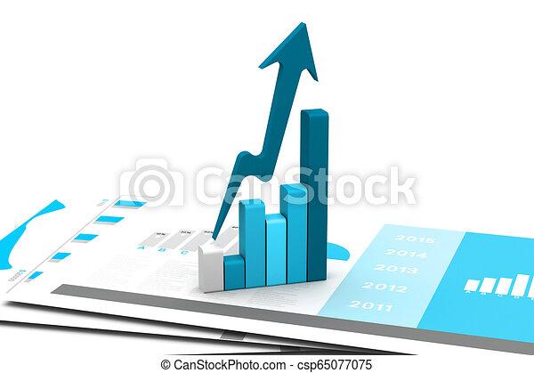 graphique, business - csp65077075