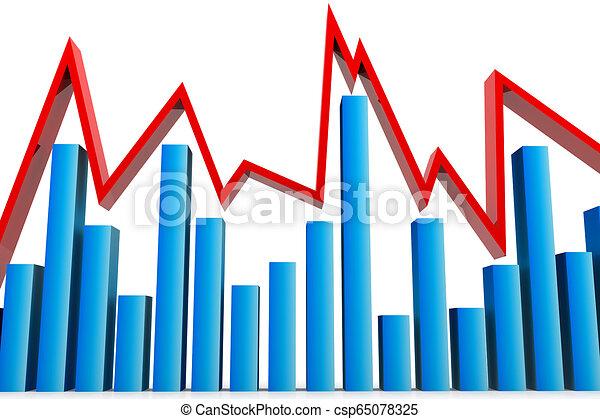 graphique, business - csp65078325