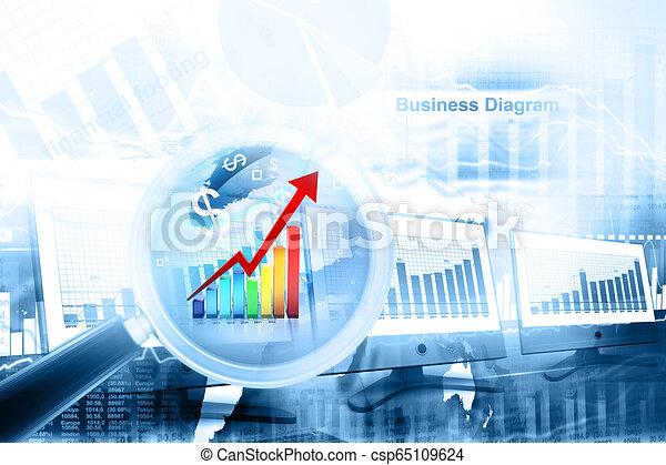 graphique, business - csp65109624