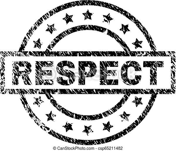 gratté, respect, textured, timbre, cachet - csp65211482