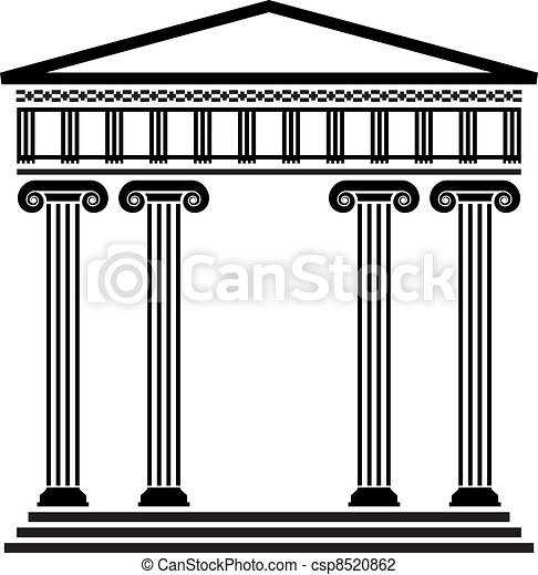 grec, vecteur, ancien, architecture - csp8520862