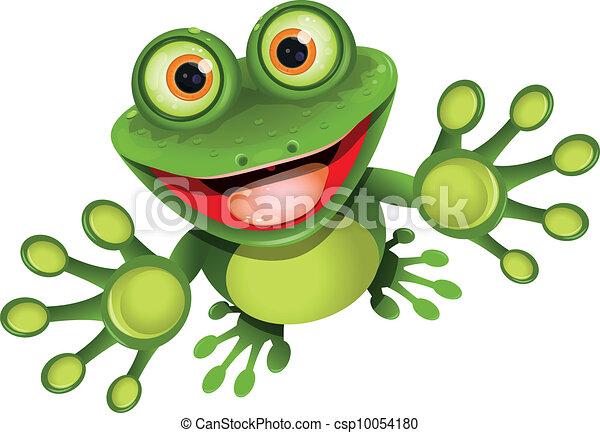 grenouille, heureux - csp10054180