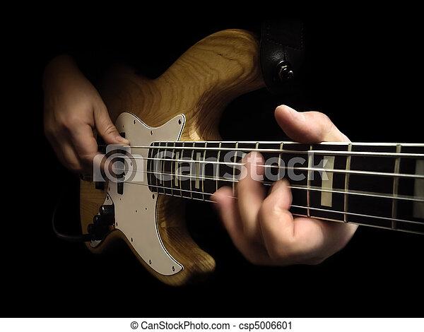 guitare, basse électrique - csp5006601