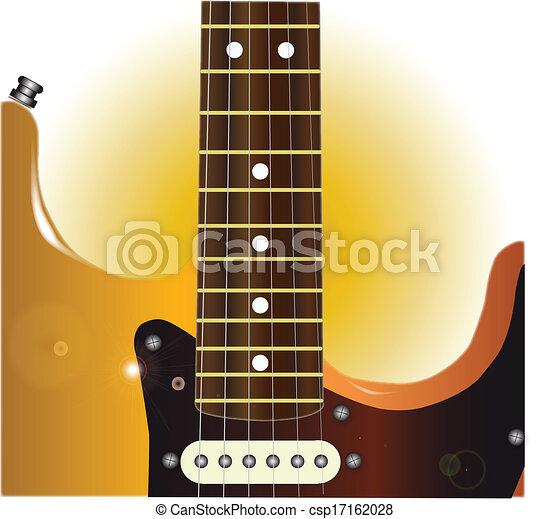 guitare, grand plan - csp17162028