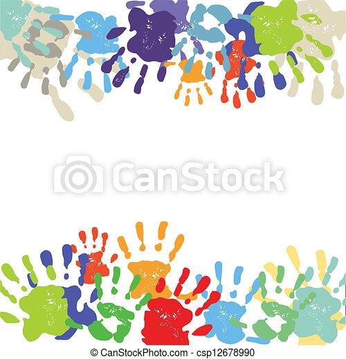 handprints - csp12678990