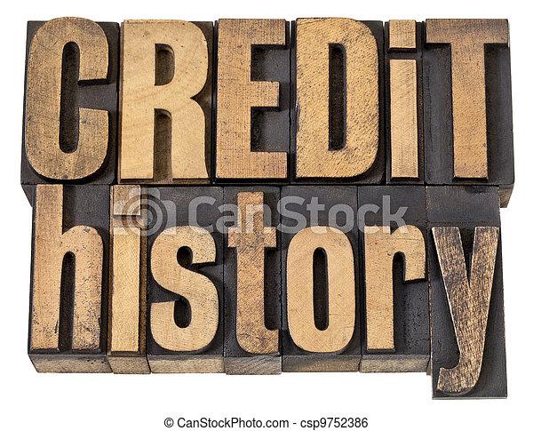 histoire, bois, texte, crédit, type - csp9752386