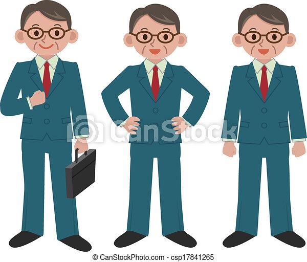 homme affaires - csp17841265