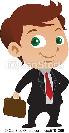 homme affaires, jeune - csp5781069