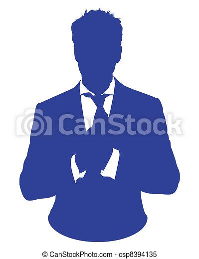 homme, avatar, costume - csp8394135