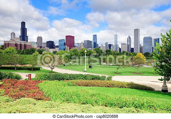 horizon, parc, sur, chicago - csp8020888