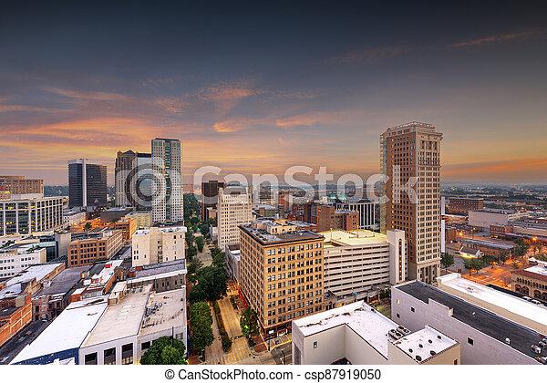 horizon ville, alabama, birmingham, en ville, usa - csp87919050