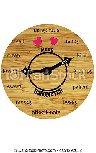 humeur, horloge - csp4292052