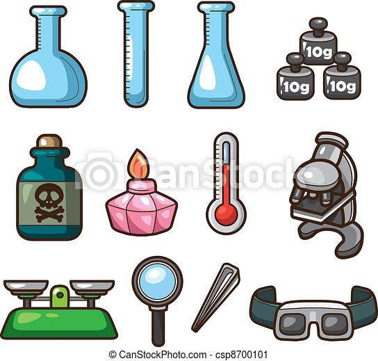 icônes, toile, science - csp8700101