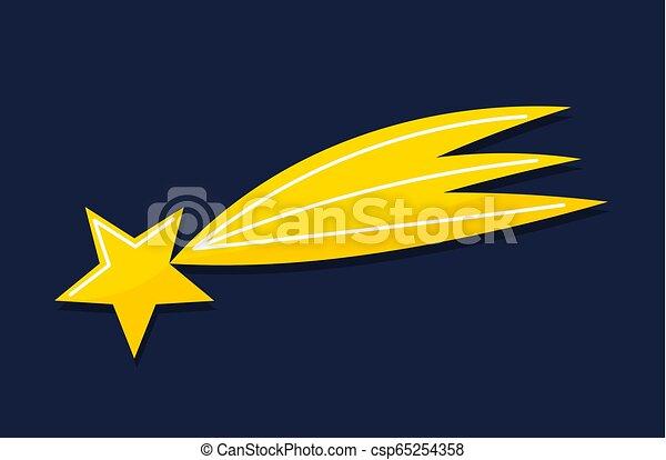 icon., tir, bethlehem., noël, étoile - csp65254358