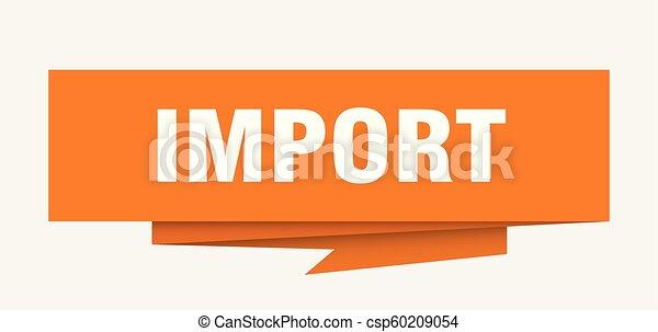 importation - csp60209054