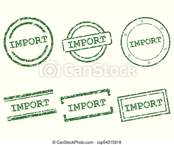 importation, timbres - csp54315918